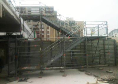 Tours d'escaliers accès public